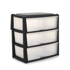 Wilko Storage Odyssey Chest 3 Drawer  sc 1 st  Pinterest & 3 Drawer Tower Small Pink | Plastic storage Tower and Drawers