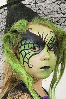 Ideas para tu Fiesta: Ideas para maquillaje de niños en Halloween