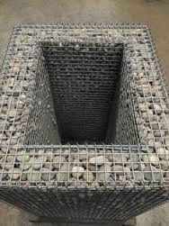 Resultado de imagem para make your own gabion baskets Gabion Baskets, Basket Planters, Landscape Design, Garden Design, House Outside Design, Gabion Wall, Garden Projects, Garden Ideas, High Quality Images