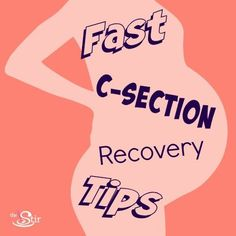 Improve your c-section recovery experience with these tips for healing faster! Here's what you can expect after a c-section and how you can recover in good time!
