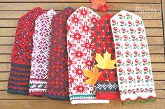 今年もラトヴィアの森の中の民芸市で買い付けて来た、おばあちゃん手編みのミトンが並びます。 只今、今週末にはお店にアップ出来るように、準備中です。 ... Knitting Projects, Knitting Patterns, Crochet Patterns, Knit Mittens, Knitted Gloves, Knitting Accessories, Winter Accessories, Fair Isle Knitting, Keep Warm