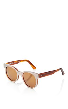 befafd6955c5 Avida Dollars Oversized White Sunglasses
