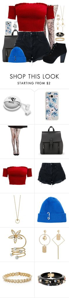 """""""Untitled #1098"""" by luckystrawberry ❤ liked on Polyvore featuring Samsung, Sonix, Nobody Denim, TIBI, Sydney Evan and Chanel"""