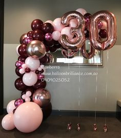 So happy you loved your arch Harriet. Thank you for the Daphne. My house smells devine and Daphne will always remind me of my birthday too now 💖 . . . #organicarch #halfarch #balloonnumbers #rosegoldnumbers #30thbirthdayballoons #canberra #canberraballoons #canberralife #visitcanberra #canberraevents #canberraflorist #balloonscanberra #BalloonBrilliance