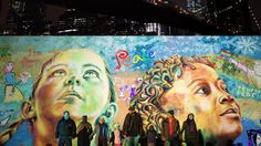 Diggin this video (holiday 2016) Microsoft Celebrates the Spirit of the Season (TV Commercial) The work features short, powerful statements from participants, snippets of scenes that define their unifying roles, and shots of them using Microsoft products to build the final art piece that crowns the ending. Also nice showcase of surface!