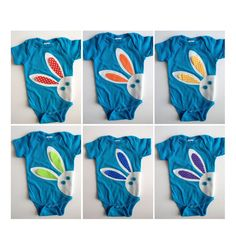 Whether you have one tot or six, we can't get enough of these adorable Easter onesies.