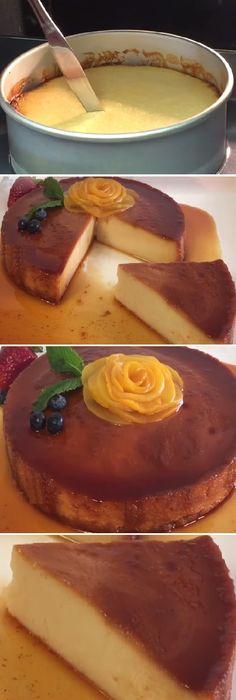 "Flan Napolitano al horno, facil de hacer "" By Creaciones Prin.  #flan #budin #flanes #postres #dulces #pudin #napolitano #alhorno  #cakes #pan #panfrances #panettone #panes #pantone #pan #recetas #recipe #casero #torta #tartas #pastel #nestlecocina #bizcocho #bizcochuelo #tasty #cocina #chocolate   Si te gusta dinos HOLA y dale a Me Gusta MIREN"