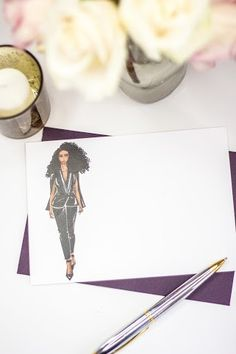 """""""The Victoria"""" Personalized Stationery"""