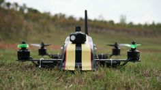 OFM Hyper 330 FPV Pod Racing Quadcopter Hardcore Testing | Rugged Bulletproof frame with rotating motor arms ...
