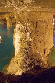 This is one of the greatest adventures in America - a 17 mile underground river that you can dive, swim, or even hike through!