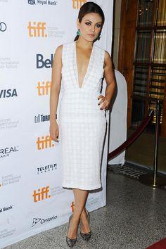 Festival Internacional de Cine de Toronto | Mila Kunis de Burberry Prorsum crucero 2014