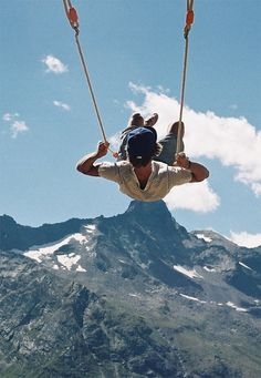 .. never too old to swing ..