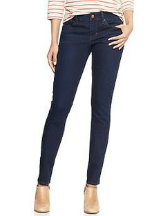 Ankle length is the perfect length for my petite frame! 1969 always skinny jeans