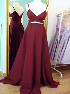 Prom dress long, A-line Straps Burgundy Sexy Prom Dress Evening Dress MK504 Color:If the color box is not in your requirement, please check the Color name.When you choose color name, please leave us a message that which color that you want.We will confirm with you again when we receive your order.Please be aware that slight color aberration of the dress and the color shown on screen is unavoidable because of many factors such as brightness of your monitor and light brightness. Size:Please…