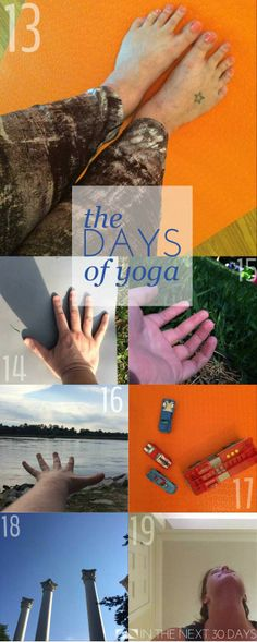 This week I've been looking for love in my yoga practice. | In The Next 30 Days