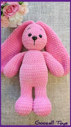 Crochet dolls 509188301622509477 - CROCHET BUNNY PATTERN – Amigurumi Rabbit pattern – Crochet animal pattern – Stuff crochet toys – Plush Easter Bunny Source by fabienneguermeu Crochet Easter, Crochet Bunny Pattern, Crochet Animal Patterns, Stuffed Animal Patterns, Crochet Patterns Amigurumi, Crochet For Kids, Amigurumi Doll, Crochet Animals, Crochet Dolls