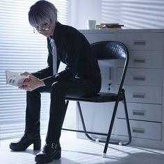 ⠀ ⌢⌢⌢⌢⌢⌢⌢⌢⌢⌢ TOKYO GHOUL:RE ⌣⌣⌣⌣⌣⌣⌣⌣⌣⌣ Haise Sasaki ❁ ----------------------------------------------- 【 #tokyoghoul #tokyoghoulroota #tokyoghoulre #kenkaneki #kanekiken #haisesasaki #sasakihaise #anteiku #ghoul #tokyo #haise #sasaki #kaneki #ken #animeotaku #animeworld #animecosplay #cosplay #cosplayer #金木 #研 #コスプレ 】 ⠀ ∴∵∴∵∴∵∴∵∴∵∴∵∴∵∴∵∴∵∴∵∴∵∴∵∴ #CN: ichinosehikaru (一之濑光)  ∴∵∴∵∴∵∴∵∴∵∴∵∴∵∴∵∴∵∴∵∴∵∴∵∴