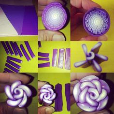 Simple rose cane. I am very pleased. #polymerclay #handmade #creativepassion #ilovewhatido