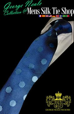 amazing polka dot neckties. best blue dotted ties