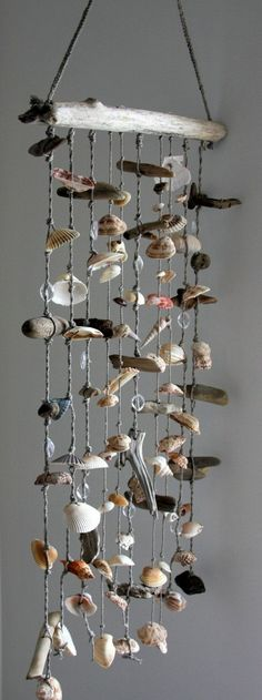 Shells Decoration hanging wind chimes sweet summery creative