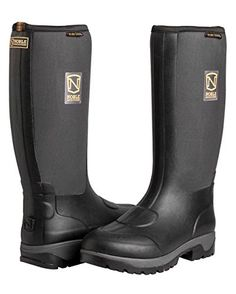 Noble Outfitters Men/'s MUDS Stay Cool High Waterproof Rubber Rain Boots