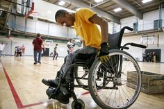 MARYSVILLE - Push, push, push. About once per second, Quinton Morris gripped the top of his wheelchair's push rims with gloved hands. He powerfully...