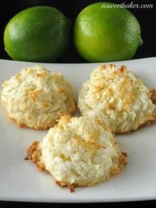 Margarita Macaroons by A Sweet Baker on www.whatscookingwithruthie.com #cookies #recipes