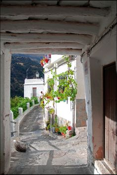 La Alpujarra in Granada, white houses and mountains - Friendly Rentals Granada Andalucia, Granada Spain, Andalusia Spain, Places To Travel, Places To See, Travel Destinations, Beautiful World, Beautiful Places, Travel Around The World