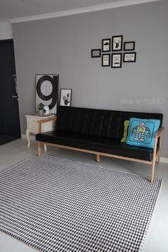 22년된 오래된 아파트 셀프로 꾸미기. 모던한 거실 인테리어. 셀프페인팅으로 꾸민집. Entryway Bench, Minimalist, House Design, Couch, Living Room, Interior Design, Inspiration, Furniture, Home Decor