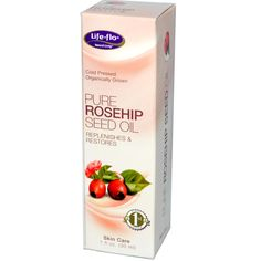 Life Flo Health, Pure Rosehip Seed Oil, Skin Care