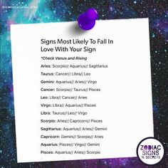 Signs Most Likely To Fall In Love With Your Sign - https://themindsjournal.com/signs-likely-fall-love-sign/