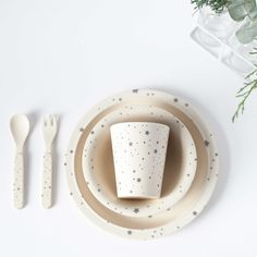 Children's Bamboo Dinnerware - Constellation