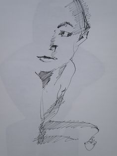 Ink on paper. Inchiostro su carta. 30 x 42 cm.