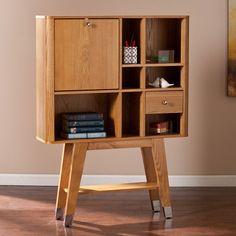 Harper Blvd Perry Midcentury Modern Fold-Down Desk