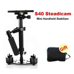 78.99$  Watch here - http://alih6r.worldwells.pw/go.php?t=32775795453 - S40 0.4M 40CM Handheld Steadycam Stabilizer For Steadicam Canon Nikon AEE DSLR Video Camera