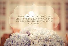 Las pequeñas cosas