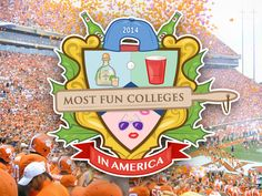 The 20 most fun colleges in America.