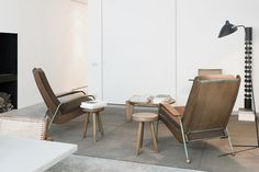 Whether he's creating a hotel or a private home, the Belgian architect and interior designer imbues his perfectly pared-down spaces with warmth.