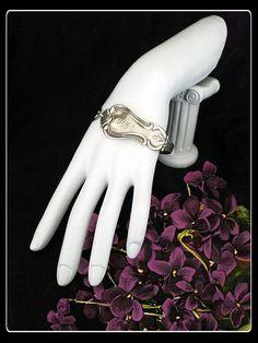 Handmade Tiffany & Co. silver spoon  bracelet