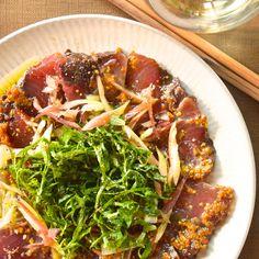 カツオのカルパッチョ(魚介のおかず)は白, 赤ワインに合う簡単・絶品レシピです。このレシピに合わせたいのは、辛口白ワインかライト〜ミディアムボディの赤ワイン。 ...
