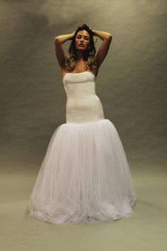 La Luna Bridal is all about embracing a woman's figure #weddingdress #bride