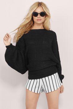 Rehab Clothing Gridlocked Knit Sweater