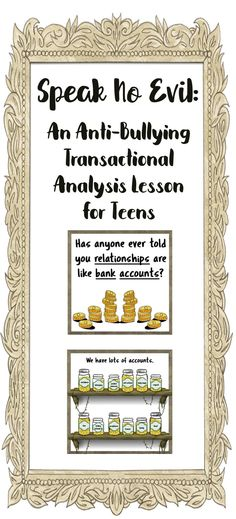 This spiffy powerpoint (complete with discussion questions!) is perfect for implementing a transactional analysis school counseling lesson in the classroom.