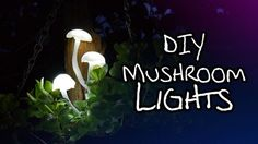 In this video we'll be making some really charming mushroom lights! Parts list below, including links to suitable LEDs. Previous video: https://www.youtube.c...