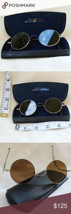 Willson Vintage Antique Wire Sunglasses & Case These awesome 1920s sunglasses are quite a statement piece!  They are in great shape.  Nothing like getting the original look!  There are no major scratches on them.  They are in amazing condition for the age of them. Willson Accessories Glasses