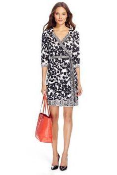 Tallulah Two Silk Jersey Wrap Dress