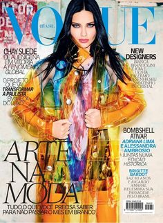 Adriana Lima's 2014 Vogue Spain Covers