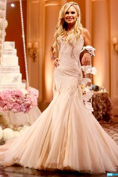 All About Tamra Barney\'s Wedding Dress—and Her Cuff   Pinterest ...