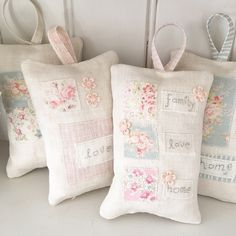 Hand Made by Betsy Blair Home Please select from drop down menu below. Made with beautiful, vintage inspired Sarah Hardaker linens, these pretty de...
