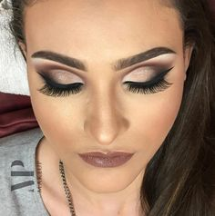 Perfect make up Glam Makeup Look, Love Makeup, Hair Makeup, Beauty Video Ideas, Make Up Inspiration, Dramatic Makeup, Makeup Designs, Makeup Goals, How To Make Hair